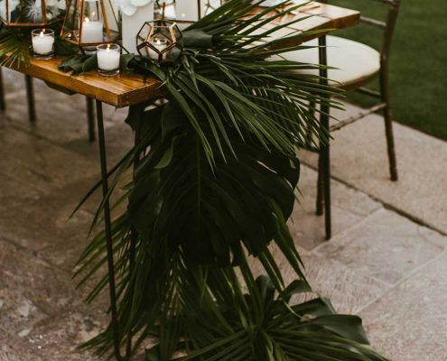 Desert Tropical Fusion Wedding Floral