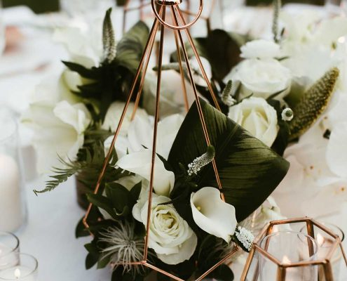 Desert Tropical Fusion Wedding Flowers