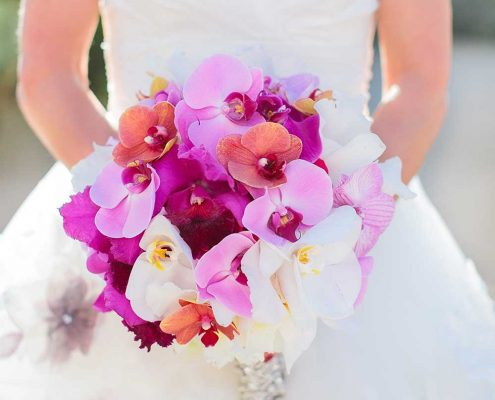 Blissful Romance Wedding Bridal Bouquet