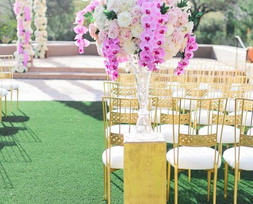 Blissful Romance Wedding Ceremony