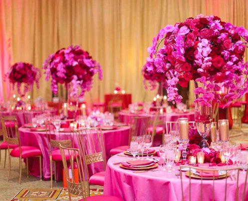 Blissful Romance Wedding Reception