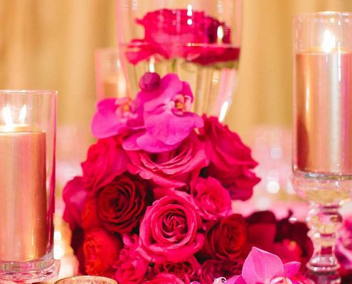 Blissful Romance Wedding Table Detail
