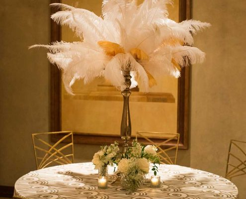 Elegant Welcome Reception