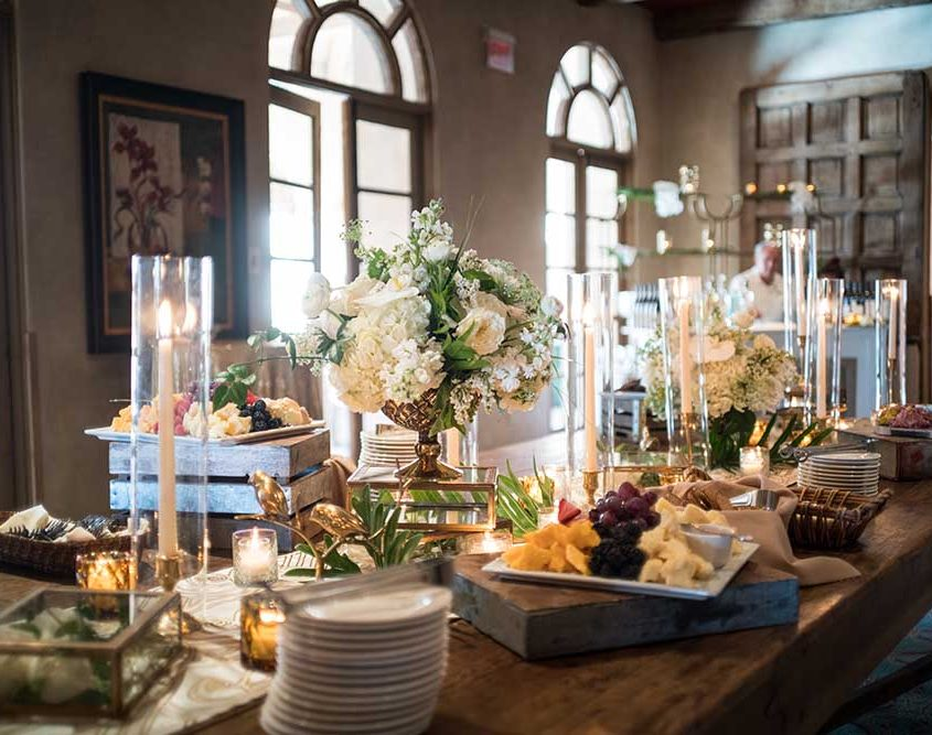 Elegant Welcome Reception