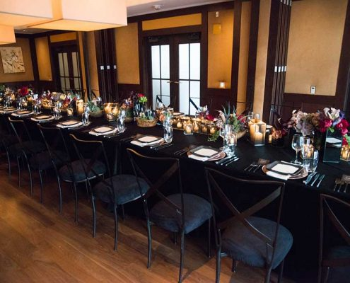 Whiskey & Cigar Soiree Corporate Event