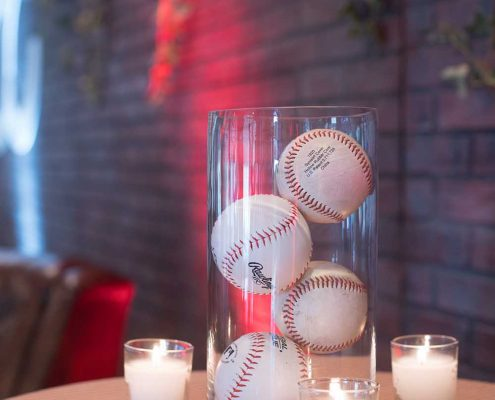 Baseball Themed Closing Reception