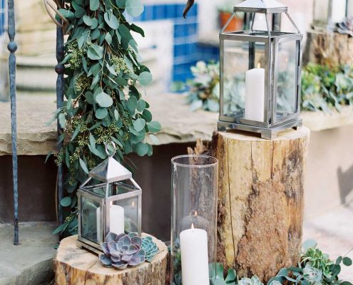 Warm Winter Wedding Design