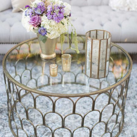 Justinian Coffee Table Wedding Reception