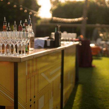 Art Deco Beverage Bar