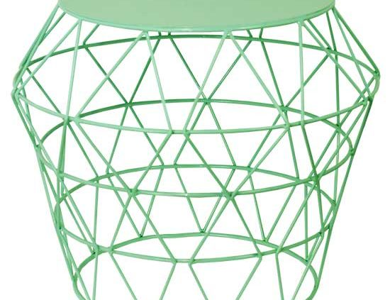 Green Basket Table