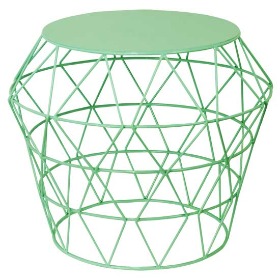 Green Basket Table