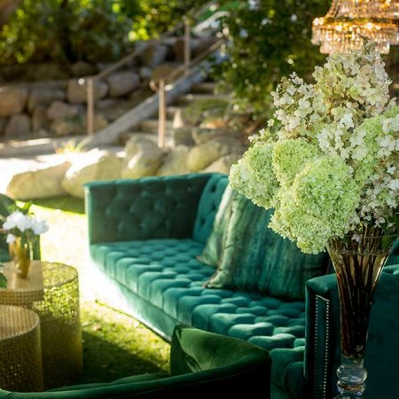 Emerald Tufted Hollywood Sofa