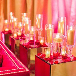 Hot Pink Mademoiselle Velvet Couch