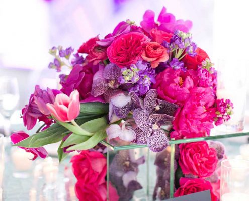 Bold Wedding Floral Design