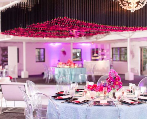 Bold Wedding Reception