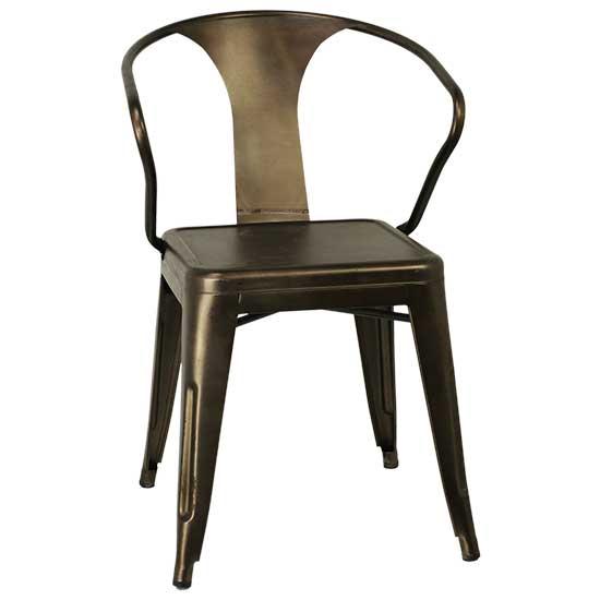 Merveilleux Bronze Chair