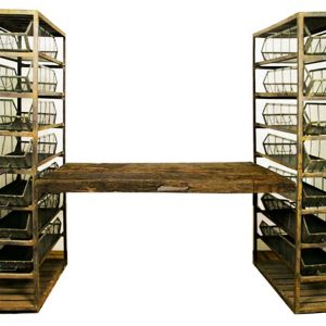 Industrial Storage Shelving with Shelf