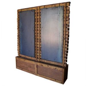 Wood Panel Display