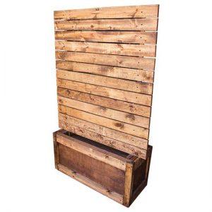 Wood Panel Planter