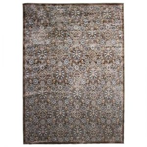 Persian Inspired Taupe Rug