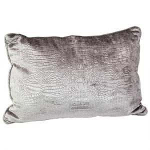 Silver Reptile Pillow
