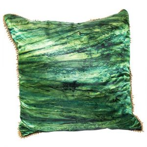 Green Gold Pillow