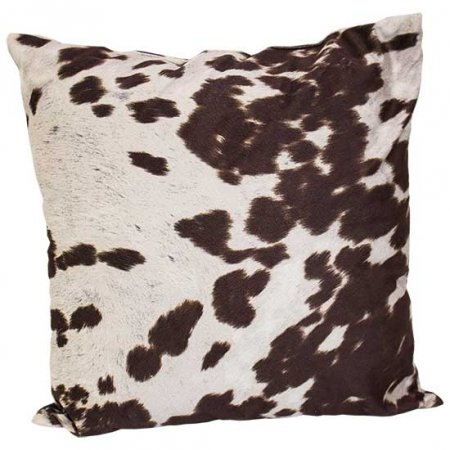Faux Cowhide Pillow