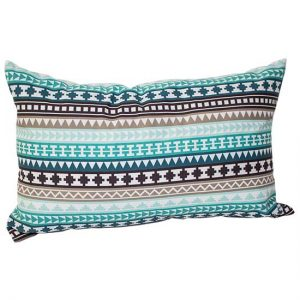 Horizontal Geo Stripe Pillow