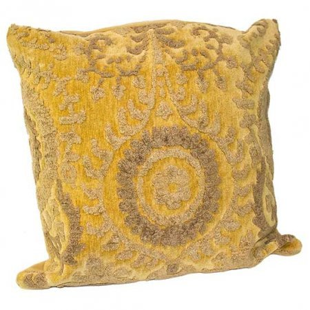 Gold Baroque Pillow