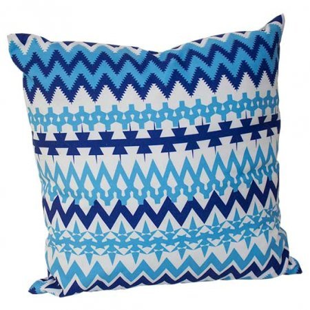 Geometric Stripe Pillow