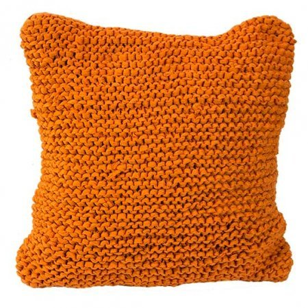 Orange Texture Pillow