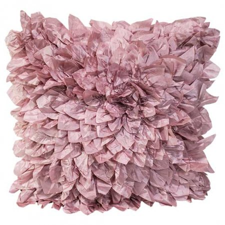 Textured Mauve Pillow