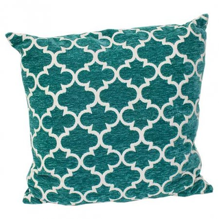 Moroccan Teal Pillow