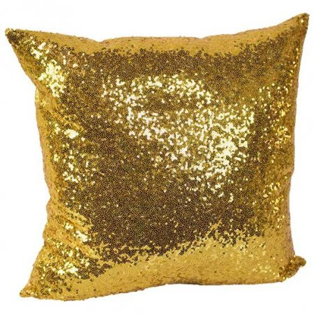 Gold Sequin Pillow