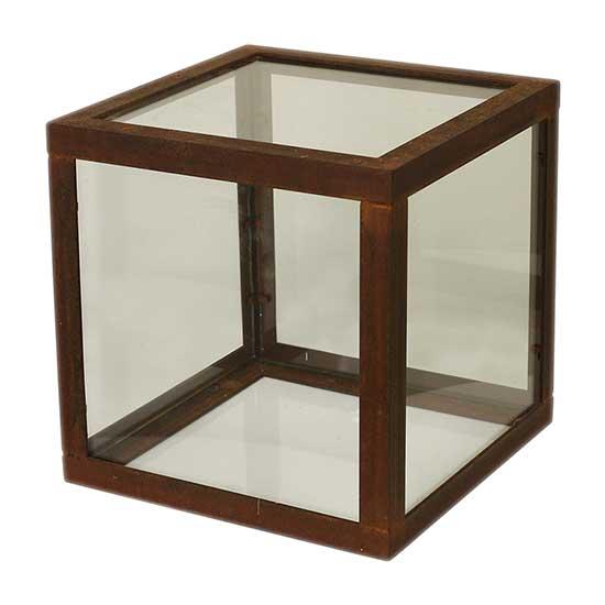 Rust, Metal & Glass Table Short