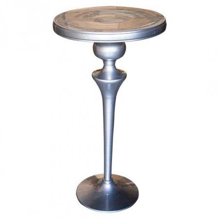 Soft Pewter Highboy Table