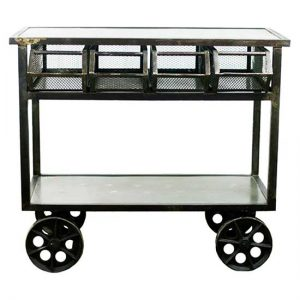 Steel Rolling Cart