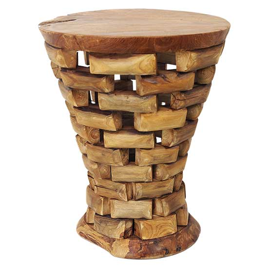 Teak Wood Side Table.Teak Wood Side Table