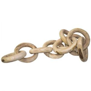 Wood Chain Links