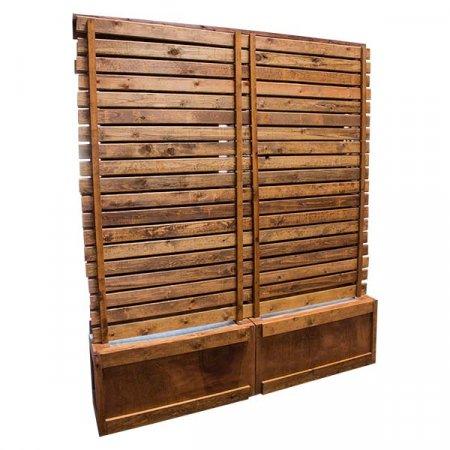 Wood Panel Display