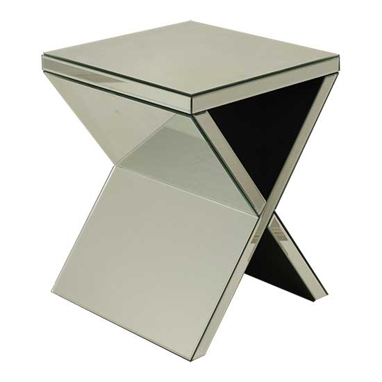 X Mirror Table
