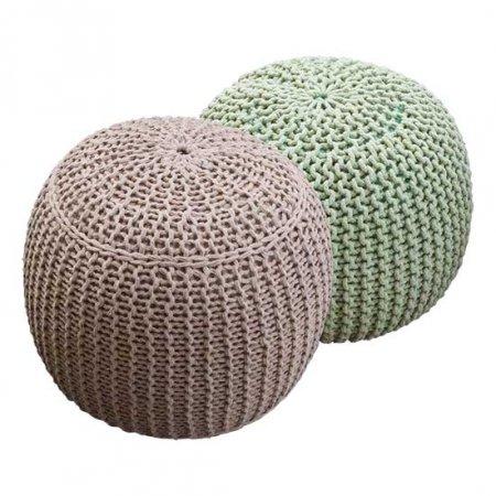 Yarn Poufs