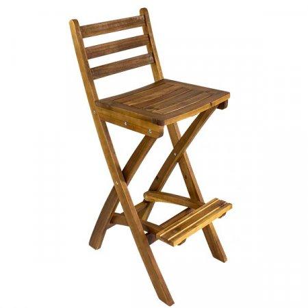 Atlantic Wood Bar Chair