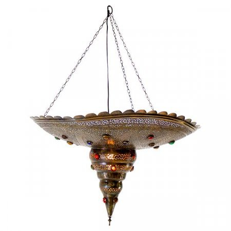 Brass Jewel Light