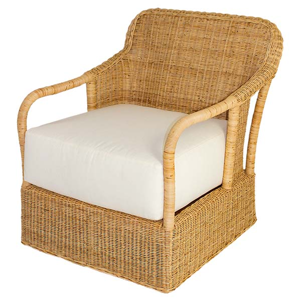 Desmona Wicker Lounge Chair