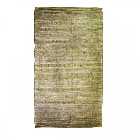 Distressed Green Rug