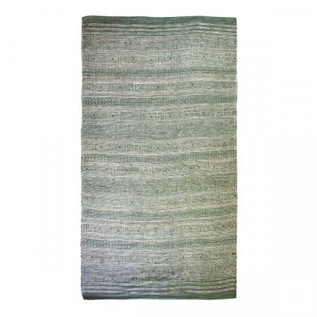Distressed Blue Green Rug