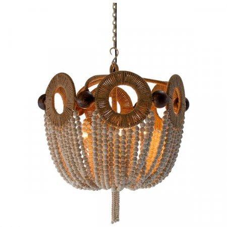 Mayfair Ivory Beaded Light