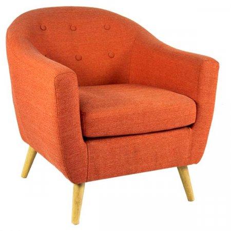 Orange Petite Chair