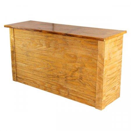 Wood Front Bar